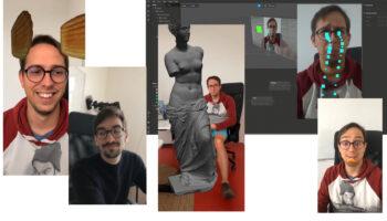 Louis Hoebregts and Lukas Liefsoens trying Instagram filters